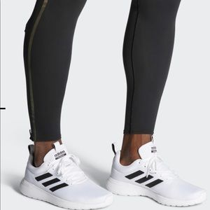 Adidas LITE RACER CLN SHOES white and blac…
